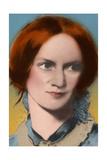 Charlotte Bronte, English Author Giclée-Druck von  Science Source