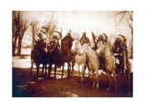 Native American Indian Tribal Leaders, 1900 Photographic Print by  Science Source