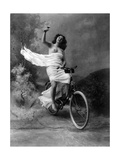 """Don't Drink and Drive"", Nude Model, 1897 Reproduction photographique par  Science Source"