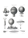 Aeronautics, 1818 Giclée-Druck von  Science Source