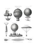 Aeronautics, 1818 Giclee Print by  Science Source