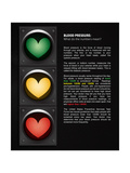 Blood Pressure: What Do the Numbers Mean Posters by  Science Source