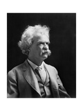 Mark Twain, American Author and Humorist Lámina fotográfica por  Science Source