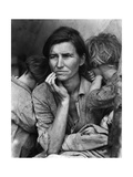 Migrant Mother Photographic Print by  Science Source