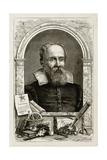 Galileo Galilei, Italian Astronomer Giclee Print by  Science Source