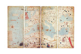 World Map, Catalan Atlas, 1375 Giclee Print by  Science Source