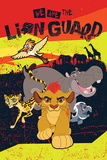 The Lion Guard- The Team Plakater