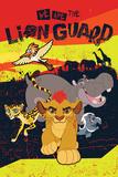 The Lion Guard- The Team Prints