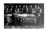 WWI, Kaiser Wilhelm II with Generals Photographic Print by  Science Source