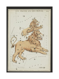 Leo Major and Leo Minor Constellations, 1825 Giclee Print by  Science Source