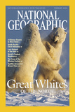Cover of the February, 2004 National Geographic Magazine Fotografisk tryk af Norbert Rosing