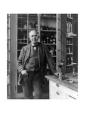 Thomas Edison, American Inventor Photographic Print by  Science Source