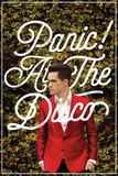 Panic At The Disco- Green Ivy & Red Suit Poster