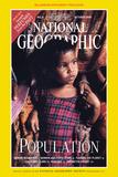 Cover of the October, 1998 National Geographic Magazine Fotografisk tryk af Karen Kasmauski