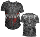 Bullet For My Valentine- Demon All Over (Front/Back) T-paidat