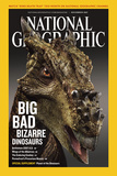 Cover of the December, 2007 National Geographic Magazine Fotografisk tryk