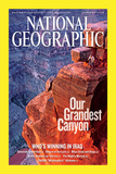 Cover of the January, 2006 National Geographic Magazine Photographic Print by John Burcham