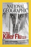 Cover of the October, 2005 National Geographic Magazine Fotografisk trykk av Lynn Johnson