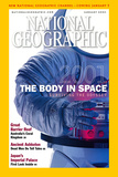Cover of the January, 2001 National Geographic Magazine Fotografisk tryk af Ira Block