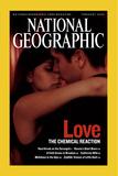 Cover of the February, 2006 National Geographic Magazine Fotografie-Druck von Pablo Corral Vega