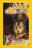 Cover of the November, 1999 National Geographic Magazine Lámina fotográfica por Stenzel, Maria