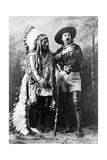 Sitting Bull and Buffalo Bill, 1885 Photographic Print by  Science Source