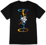 Portal 2- Gel Splatter T-Shirt