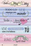 Amelie- Solo Se Vive Una Vez (Only Live Once) Poster