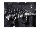 Edward Elgar Recording Session, 1914 Photographic Print by  Science Source