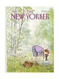 The New Yorker Cover - July 16, 1984 Giclee Print by Charles Saxon