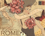 Rom Plakat af Maria Woods