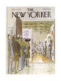 The New Yorker Cover - November 12, 1979 Giclee Print by Charles Saxon
