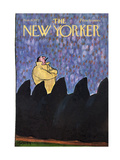 The New Yorker Cover - November 11, 1972 Giclee Print by Charles Saxon