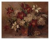 Autumn Lilies Poster di Barbara Mock