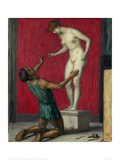 Pygmalion, 1926 Gicléetryck av Franz von Stuck