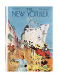 The New Yorker Cover - January 14, 1961 Giclee Print by Charles Saxon