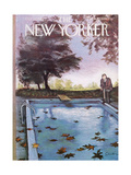 The New Yorker Cover - October 19, 1963 Giclee Print by Charles Saxon