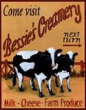 Bessie's Creamery Kunstdrucke von Grace Pullen