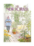The New Yorker Cover - March 11, 1985 Giclee Print by Charles Saxon