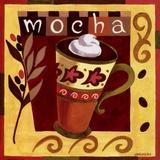 Italian Mocha Poster tekijänä Jennifer Brinley