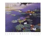 Water Lilies Print by Tadashi Asoma