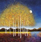 Evening Stream Kunstdrucke von Melissa Graves-Brown