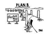 Plan BKeystone pipeline has been converted into artist lofts - New Yorker Cartoon Premium Giclee-trykk av Drew Dernavich