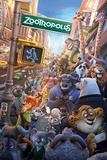 Zootropolis- One Sheet Affiches
