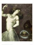 Salome, 1906 Gicléetryck av Franz von Stuck
