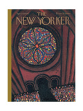 The New Yorker Cover - April 9, 1966 Giclee Print by Robert Kraus