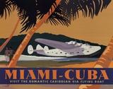 Miami-Cuba Affiches par David Grandin