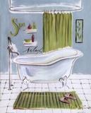 Bath IV Posters av Jennifer Sosik