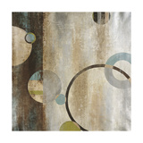 Interlocking Planets Premium Giclee Print by Liz Jardine