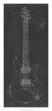 Electric Guitar Blueprint II Giclee Print by Ethan Harper